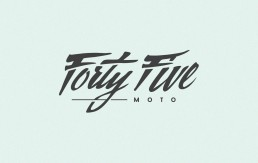 Forty Five Moto Logo 2