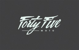 Forty Five Moto Logo 1