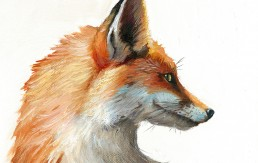Quick Brown Fox Painting